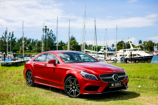 Mercedes-Benz CLS Coupe (4)