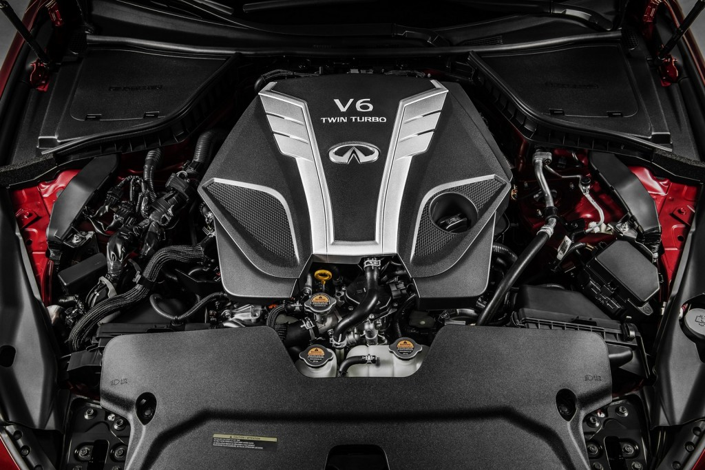 Infiniti's new 3.0-liter V6 twin-turbo engine